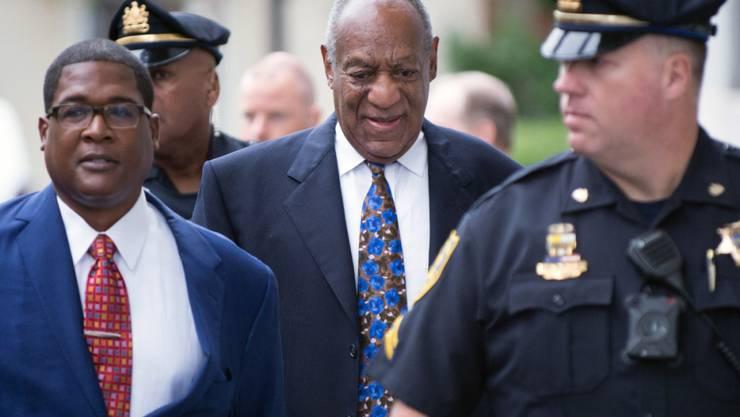 Das Urteil gegen ihn wegen sexuellen Missbrauchs wird am Dienstag erwartet: US-Entertainer Bill Cosby.