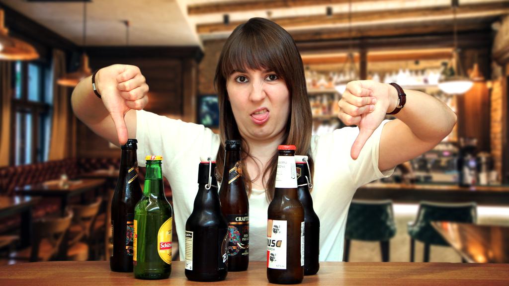 Ich mag Bier nicht! Und jetzt hört auf zu nerven