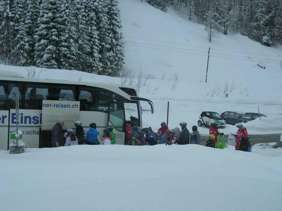 Sichere Fahrt, viel Schnee und tolle Betreuer
