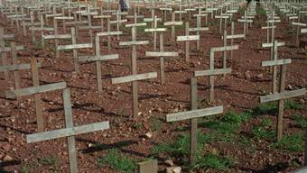 Bei dem Völkermord in Ruanda waren 1994 rund 800'000 Tutsi und gemässigte Hutu getötet worden. (Archivbild).