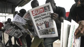 Nigerianische Medien zelebrieren die Befreiung der Mädchen