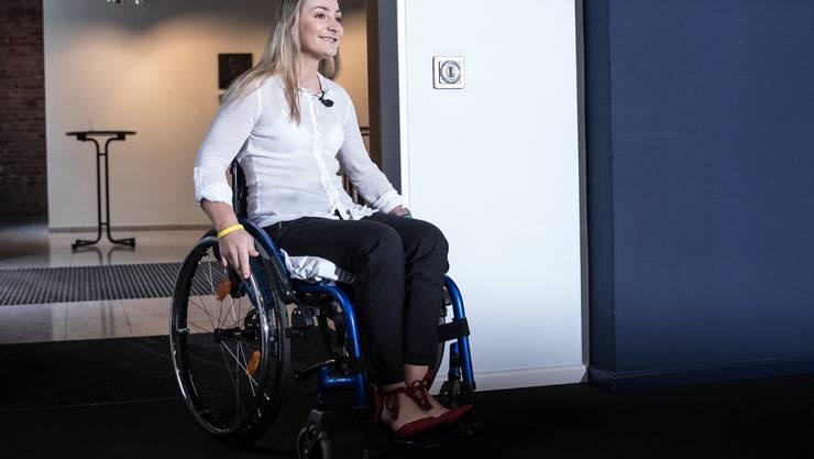 Fühlt sich nicht an den Rollstuhl gefesselt: Kristina Vogel.