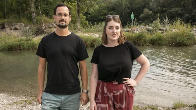 Die Grossratskandidaten Andreas Holenstein und Fiona Wiedemeier wollen die Sandbänke zurück – die Partei distanziert sich von der Petition.