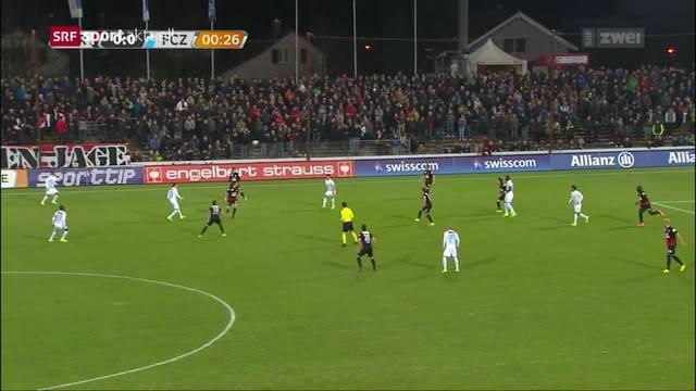 Lichterlöschen beim FC Aarau Match