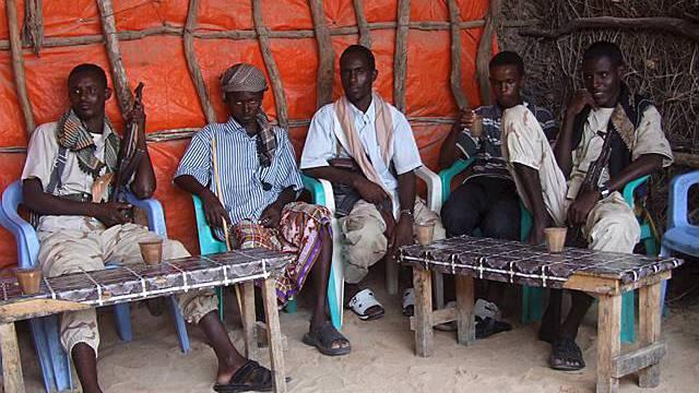 Somalische Piraten (Symbolbild)