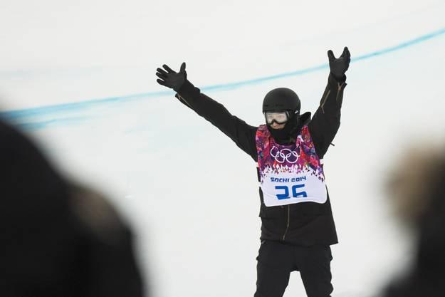 Iouri Podladtchikov gewinnt die Goldmedaille in der Halfpipe
