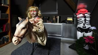 «Das Geisterhaus» heisst die neue Ausstellung im Historischen Museum Luzern.
