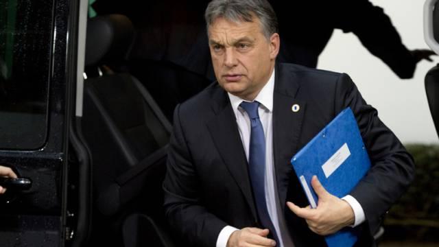 Ungarns Präsident Viktor Orban (Archiv)