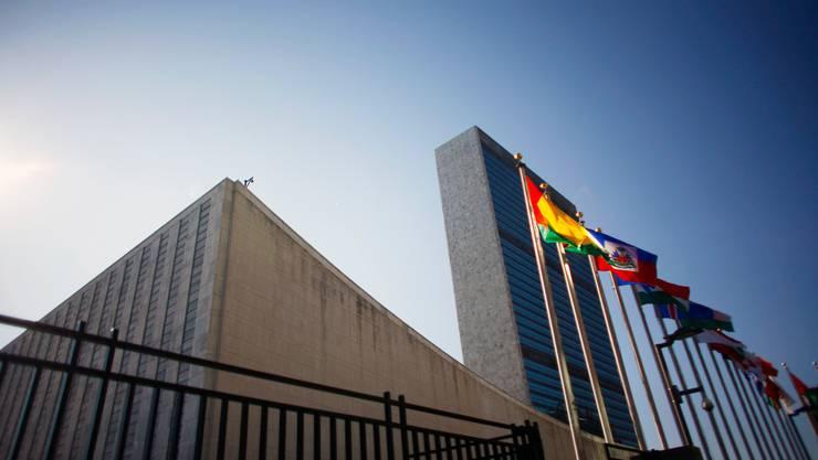 Das UNO-Hauptquartier in New York. (Archivbild)