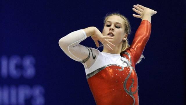 Giulia Steingruber fehlten 0,216 Punkte zur WM-Bronzemedaille.