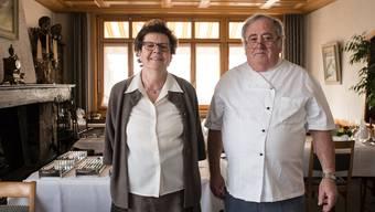 Beatrice und Max Hintermann-Matter sind nur noch wenige Tage im Restaurant Zihl in Beinwil am See anzutreffen.