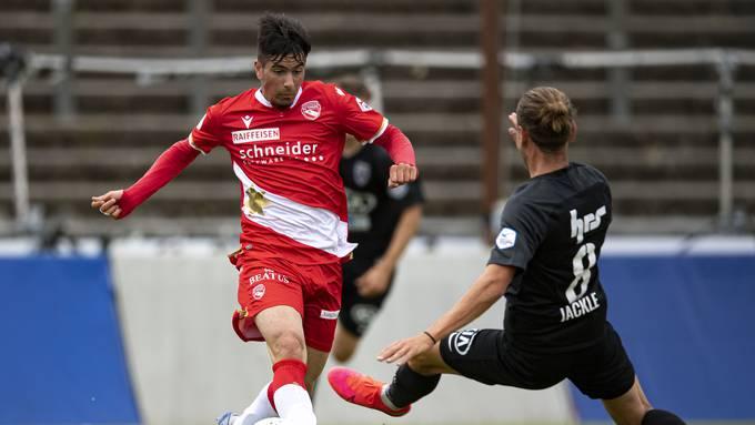 Testspiel FC Aarau - FC Thun