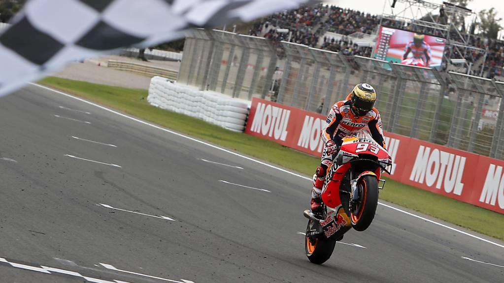 Marc Marquez wird sich ab der kommenden Saison im Honda-Team mit seinem Bruder Alex messen.
