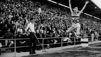 Ein Stück Schweizer Sportgeschichte: Das internationale Leichtathletik-Meeting in Zürich im Jahr 1967.