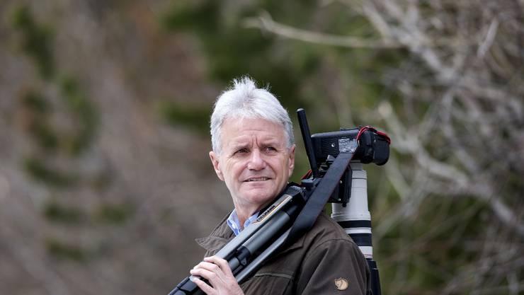 Albert Mächler, Jäger und Fotograf