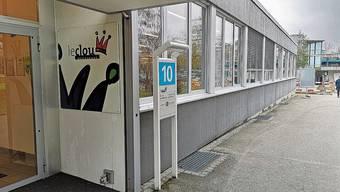 Die letzte Stunde ist nicht mehr fern: das Gebäude, in dem das «LeClou» war. Geht am Montag in Betrieb: das neue Personalrestaurant «time out».