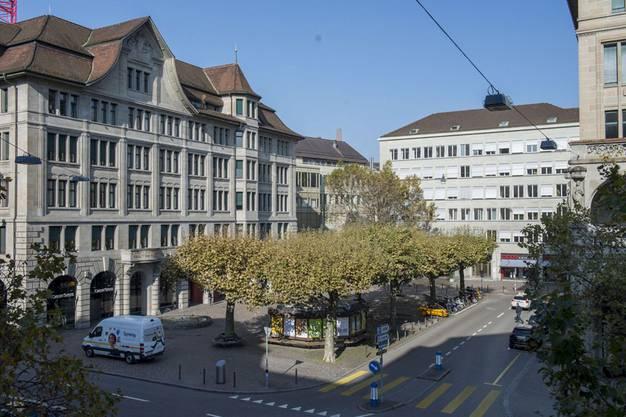 Der ehemalige Ticketcorner am Werdmühleplatz ist nun Begegnungsstätte und Austauschort.