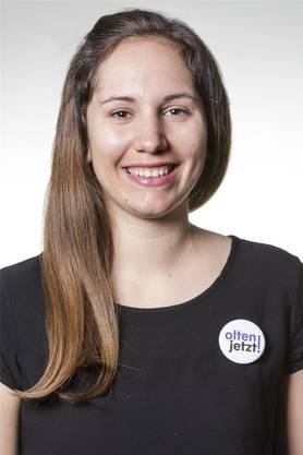 Laura Schöni, Olten-jetzt!-Parlamentarierin und Präsidentin des Pro-Vereins
