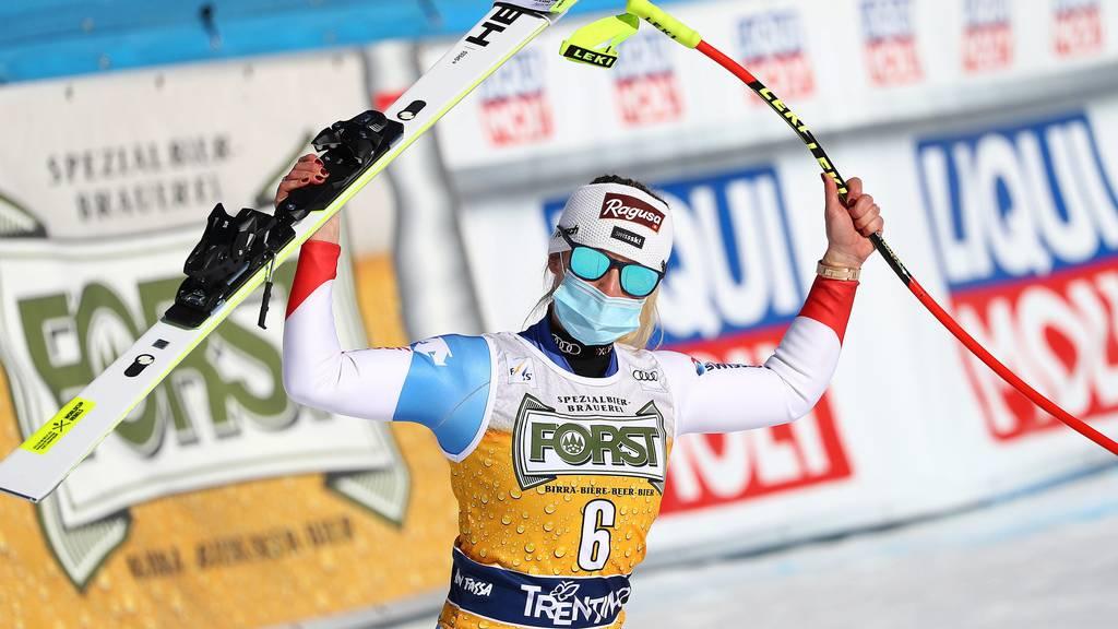 Abfahrts-Doppelsieg in Val di Fassa: Gut-Behrami gewinnt vor Suter