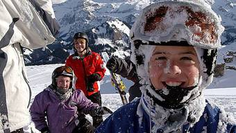 Skihelme sind Pflicht in Österreich