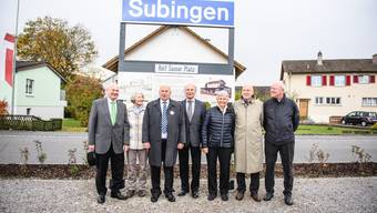 Subingen hat neu den Rolf Sauser Platz