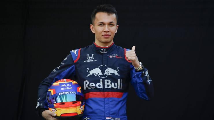 Einer der drei Neulinge: Der Thailänder Alexander Albon.
