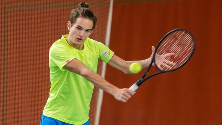 Tom Cecchetto spielte an der Swiss Junior Trophy gross auf.