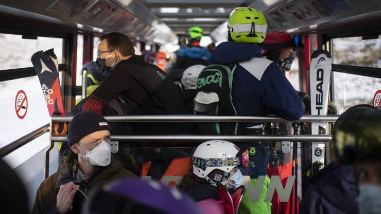 An einigen Orten – wie hier am Parsenn in Davos – hat die Skisaison bereits begonnen.