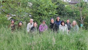 Solidarische Landwirtschaft: das Gründerteam mit Hoffamilie Fabio und Irene Tanner (l.).