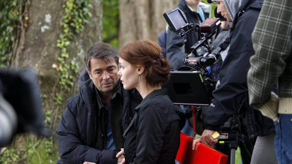 Mona Petri (Mitte) spielte 2010 beim Schweizer «Tatort» «Wunschdenken» mit (Archiv)