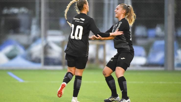 Die FCA-Frauen holen sich die nächsten drei Punkte.
