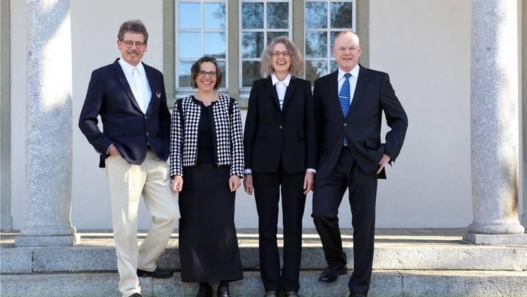 Das Pfarrteam der Reformierten Grenchen-Bettlach (von links): Peter von Siebenthal, Susanna Meyer, Doris Lehmann, Roger Juillerat.
