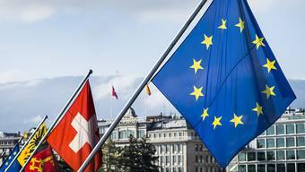 Das Rahmenabkommen verursacht Spannungen zwischen der Schweiz und der EU. (Symbolbild)