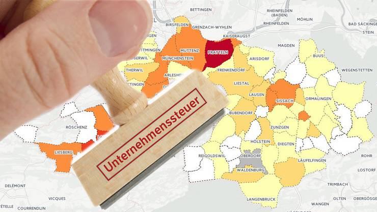 Folgen der USR III für die Baselbieter Gemeinden.