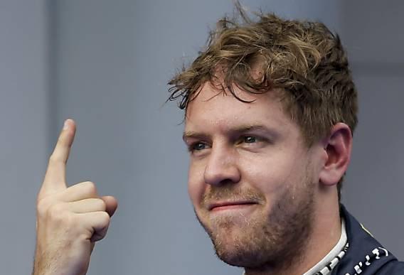 Triumph in Malaysia: Sebastian Vettel