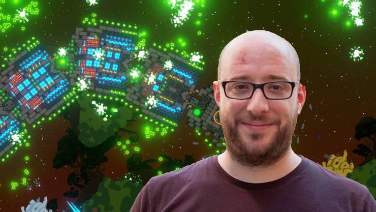 Micha Stettler entwickelt Computer-Games.