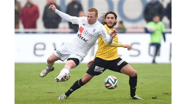 Dylan Stadelmann (links, hier noch im Dress des FC Wohlen) folgte dem Ruf aus Wil.