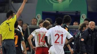 Jarolim (HSV) sah noch vor der Verlängerung rot