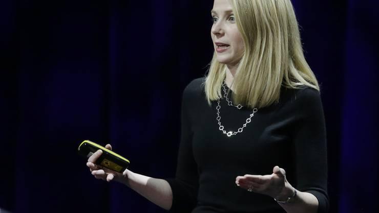 Die gewaltigen Hackerangriffe auf Yahoo bringen Konzernchefin Marissa Mayer um ihren Bonus. (Archiv)