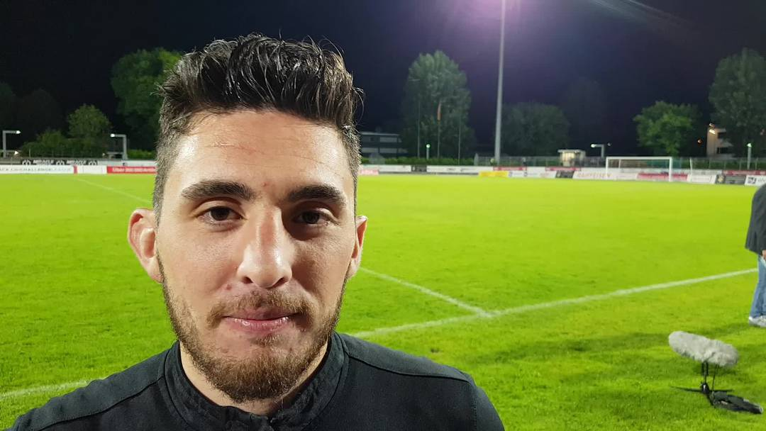 Petar Misic nach dem FCA-Sieg in Chiasso