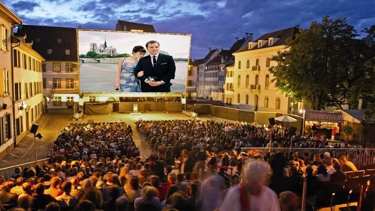 Kino unter freiem Himmel gibts nicht nur vor dem Münster.