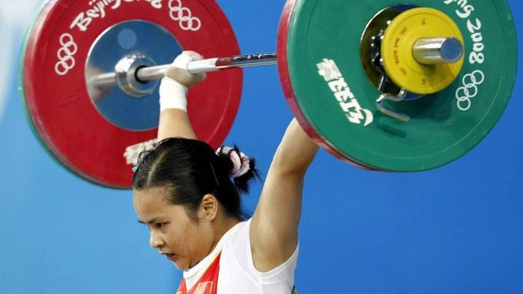 Gedopt: Die Chinesin Chen Xiexia gewann in Peking Gold.