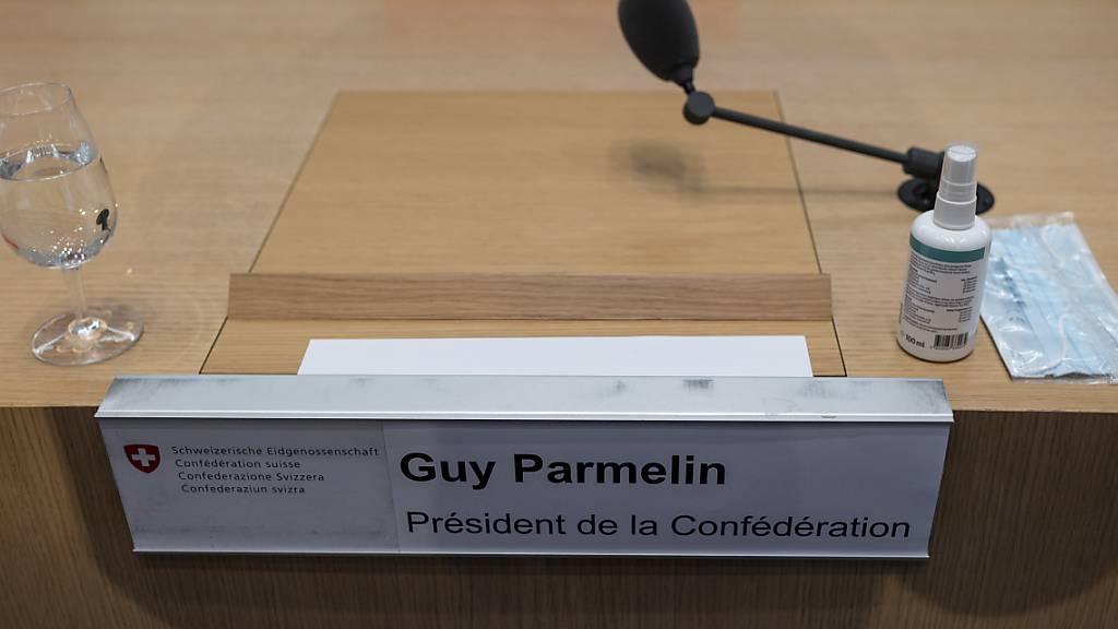 Bundesrat berät an ausserordentlichen Sitzung Reise nach Brüssel