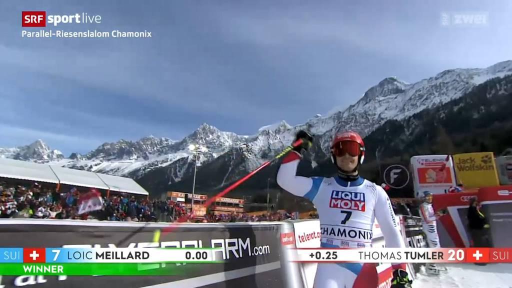 Schweizer Doppelsieg im Parallel-Riesenslalom
