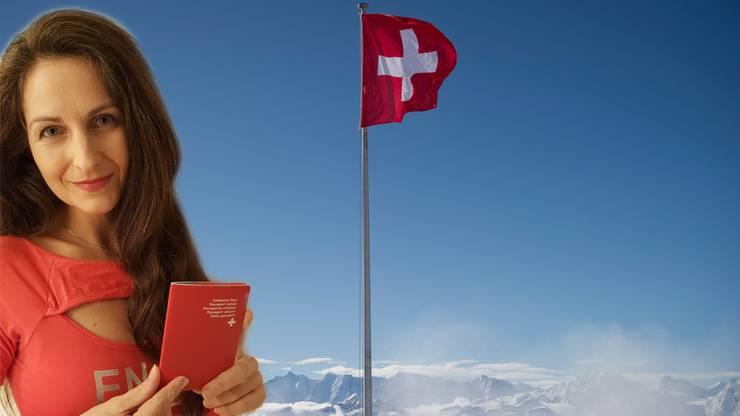 Hält schon bald den eigenen roten Pass in den Händen Nancy Holten.