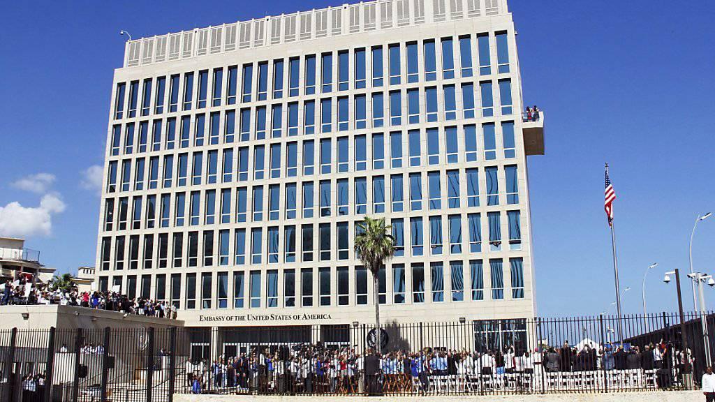 Grössere Schutzmassnahmen für US-Botschaft