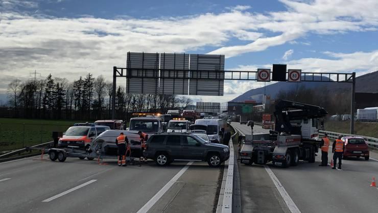 2020-03-11 Autobahn A1 Härkingen VU