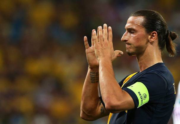 Mann der grossen Posen: Zlatan Ibrahimovic.