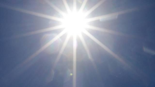 Die Sonne macht mit.