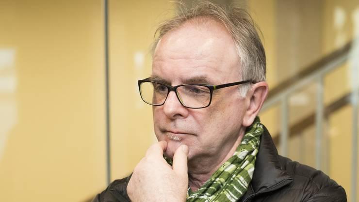 Pierre Dalcher, SVP, wurde gewählt, ist aber überzählig, Wahlen Schlieren, 4. März 2018.